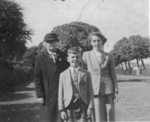Great Gran Agnes, Grandad McHardy and Daddy Robert McHardy.2