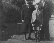 Great Gran Agnes, Grandad McHardy and Daddy Robert McHardy