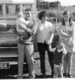 Gran, Grandad McHardy, Mum and William and Lynn McHardy
