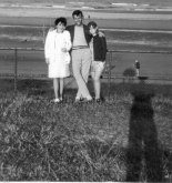 Montrose Beach Gran, Dad and Mum