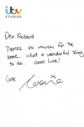 Lorraine Kelly ITV Reply Letter
