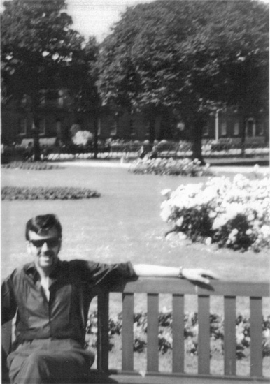Dad at Melville Gardens