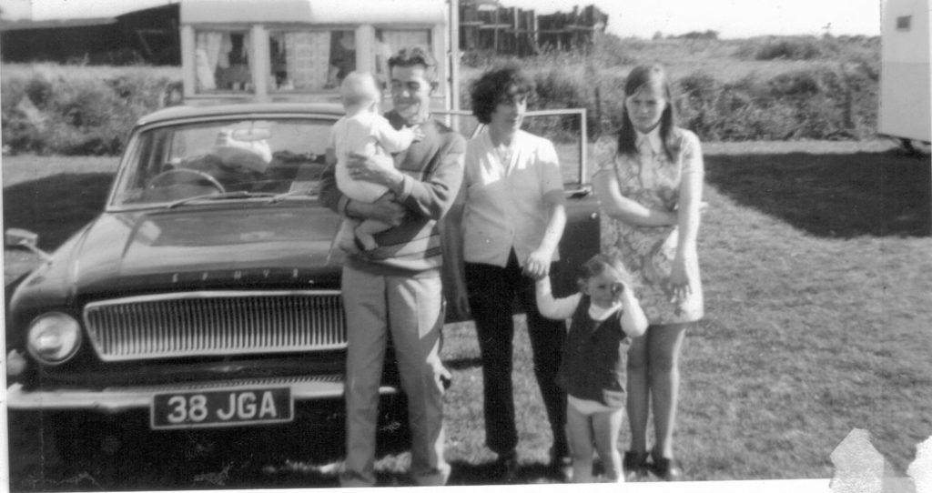 Gran, Grandad McHardy, Mum and William and Lynn McHardy