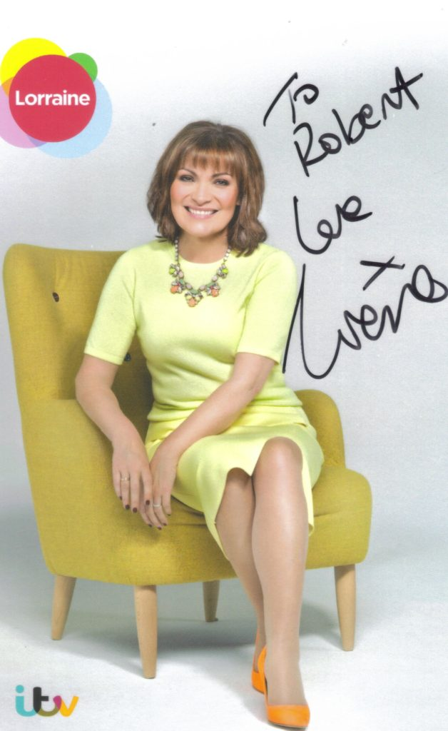 Lorraine Kelly ITV Reply Picture