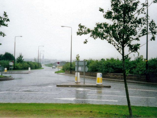 Montrose Brechin Road towards Bypass